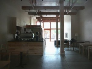 Haus coffee interior design
